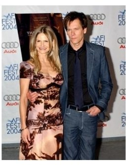 Kevin Bacon and Kyra Sedgwick at The Woodsman Premiere
