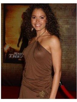 Susie Castillo at the National Treasure Premiere