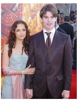 "Rachael Leigh Cook and Daniel Gillies at the ""Spider-Man 2"" Premiere"