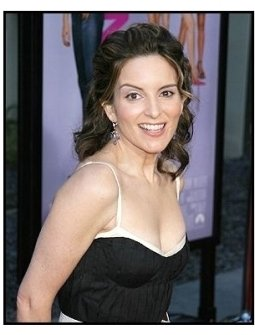 "Tina Fey at the ""Mean Girls"" Premiere"
