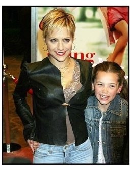 "Brittany Murphy and Kaitlan Murphy at the ""13 Going On 30"" Premiere"
