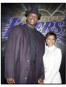 Shaquille O'Neal and date at the Palms  Casino Royale to Benefit the Lakers Youth Foundation