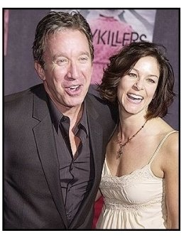 "Tim Allen and Janie Hajduk at ""The Ladykillers"" premiere"