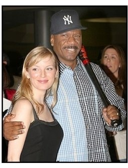 "Ving Rhames and Sarah Polley at ""Dawn of the Dead"" Premiere"