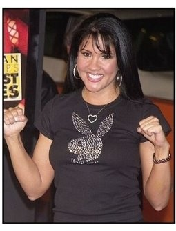 "Mia St. John at the ""Against the Ropes"" Premiere"