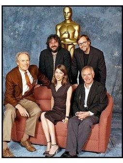 76th Anniversary Academy Awards Luncheon: Clint Eastwood, Peter Jackson, Fernando Meirelles, Peter Weir and Sofia Coppola.