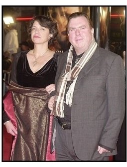 "Timothy Spall with wife at ""The Last Samurai"" premiere"