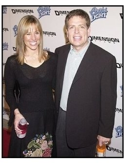 "David Zucker and wife Danielle at the ""Scary Movie 3"" premiere"