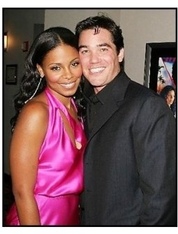 """ONE TIME USE ONLY:Sanaa Lathan and Dean Cain and at the """"Out of Time"""" Premiere"""