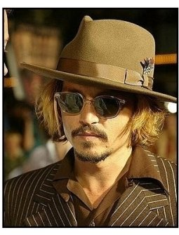 """ONE TIME USE ONLY: Johnny Depp at the """"Pirates of the Caribbean: The Curse of the Black Pearl"""" World Premiere"""
