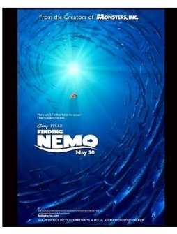 """Finding Nemo"" Movie Still: Teaser Poster"