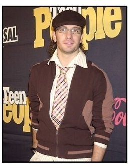 Teen People Magazine party photo: JC Chasez of N'Sync