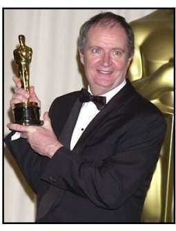 Jim Broadbent backstage at the 2002 Academy Awards