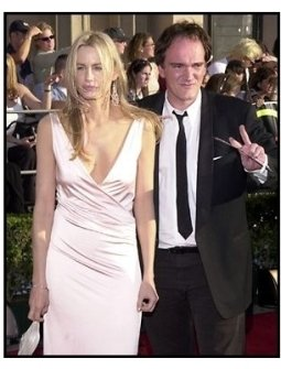 Quentin Tarantino and Daryl Hannah at the 2002 SAG Screen Actors Guild Awards