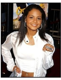 Christina Milian at the Crossroads premiere