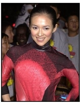 Zhang Ziyi at the Rush Hour 2 premiere
