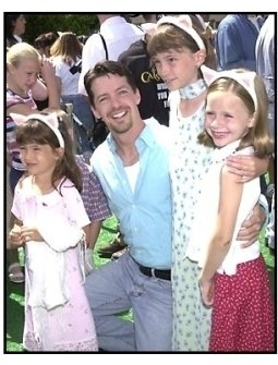 Sean Hayes and guests at the Cats and Dogs premiere