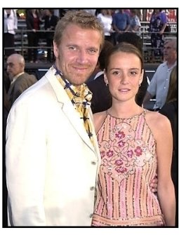 Renny Harlin and date at the Driven premiere