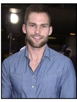 Seann William Scott at the Evolution premiere