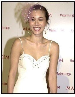 China Chow at the Maxim Hot 100 Party