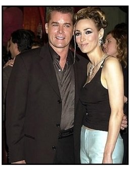 Ray Liotta and wife at the Blow premiere