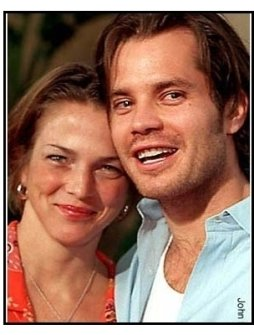 Timothy Olyphant and date at The Broken Hearts Club premiere