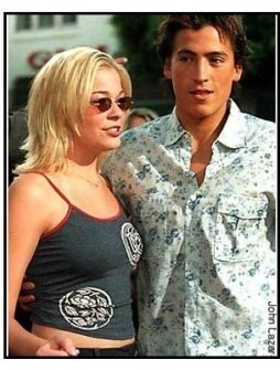 LeAnn Rimes and Andrew Keegan at The Broken Hearts Club premiere