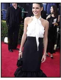 Angie Harmon at the 2001 SAG Screen Actors Guild Awards