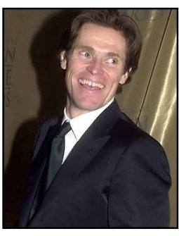 Willem Dafoe at the 2001 Golden Globe Universal / Dreamworks party