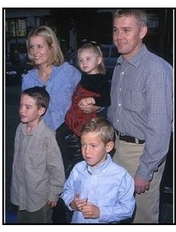 """Rick Schroder and family at the """"Galaxy Quest"""" Premiere"""