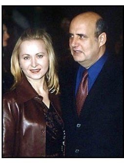 Jeffrey Tambor and date at The Grinch premiere