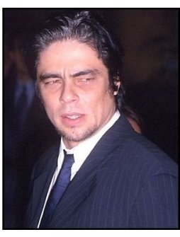 Benicio Del Toro at the Way of the Gun premiere