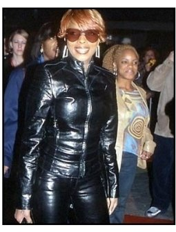 Mary J Blige at the All Access premiere