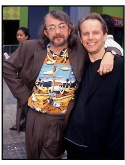 """Peter Lord and Nick Park at the """"Chicken Run"""" Premiere"""