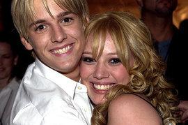 Hilary Duff, Aaron Carter