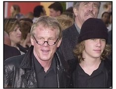 """Nick Nolte and son Brawley at the premiere of """"The Hulk"""""""