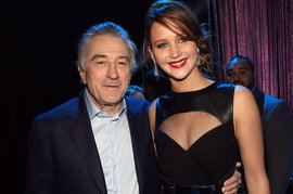 Robert De Niro, Jennifer Lawrence