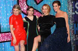 Girls, Zosia Mamet, Lena Dunham, Jemima Kirke and Allison Williams