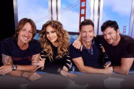American Idol, Keith Urban, Jennifer Lopez, Ryan Seacrest, Harry Connick, Jr