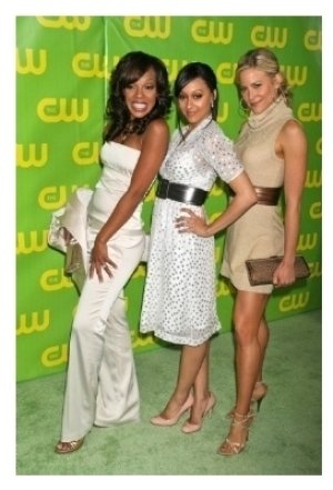 Wendy Raquel Robinson with Tia Mowry and Brittany Daniel