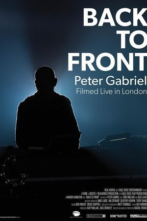 Peter Gabriel Back to Front