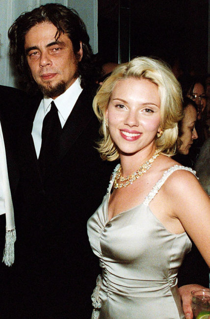 Benicio Del Toro, Scarlett Johansson