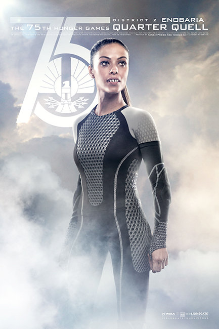Hunger Games: Catching Fire Poster Enobaria
