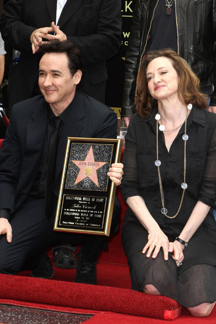 Joan and John Cusack