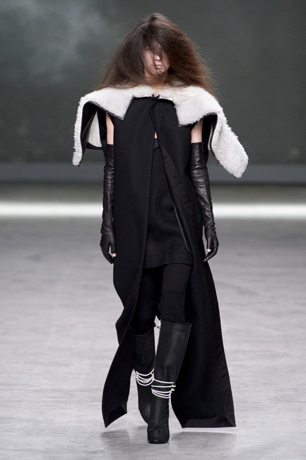 Paris Fashion Week - Autumn/Winter 2013 - Rick Owens Runway