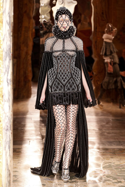 Paris Fashion Week - Autumn/Winter 2013 - Alexander McQueen Runway
