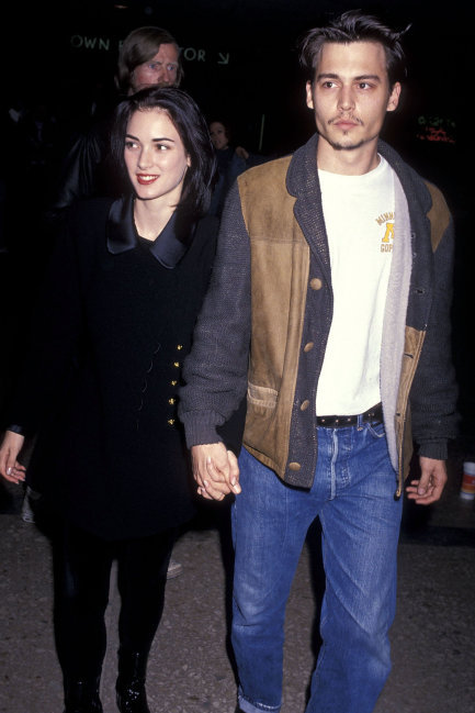 Winona Ryder, Johnny Depp