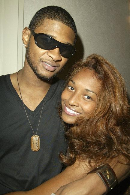 Usher and Rozonda 'Chilli' Thomas