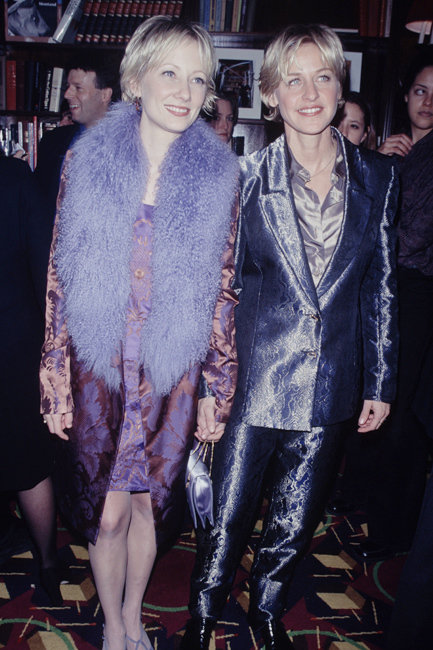 Ellen DeGeneres and Anne Heche