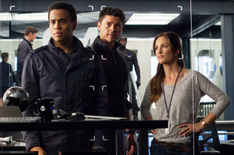 Almost Human, Michael Ealy, Karl Urban and Minka Kelly